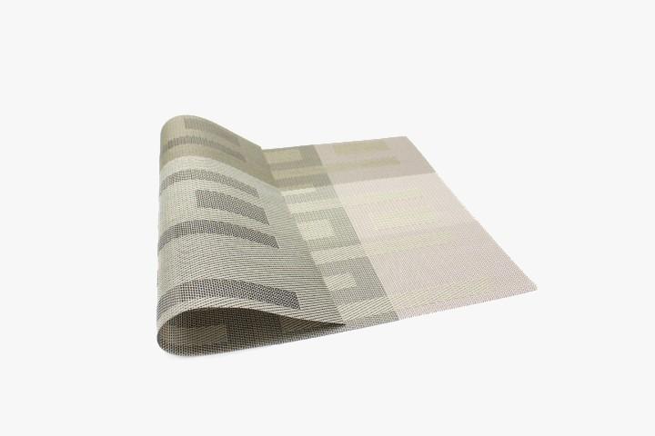 HGTWG Tovaglietta Plastica grigio nero 30x45cm 20pz