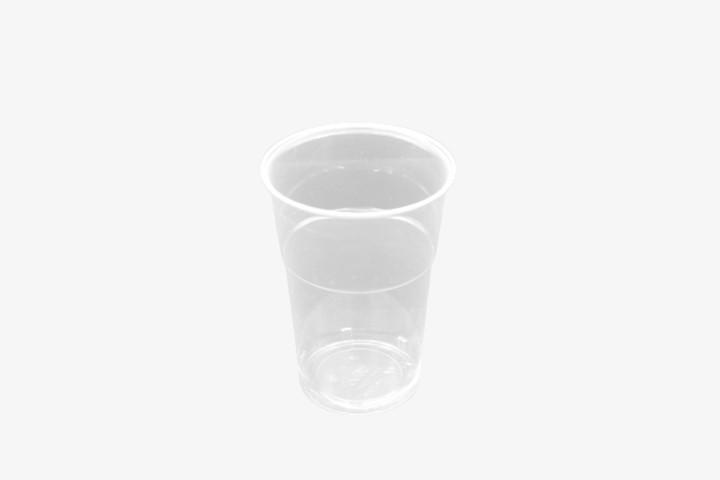 B390CC Bicchiere di plastica trasparente 390ml 1000pz