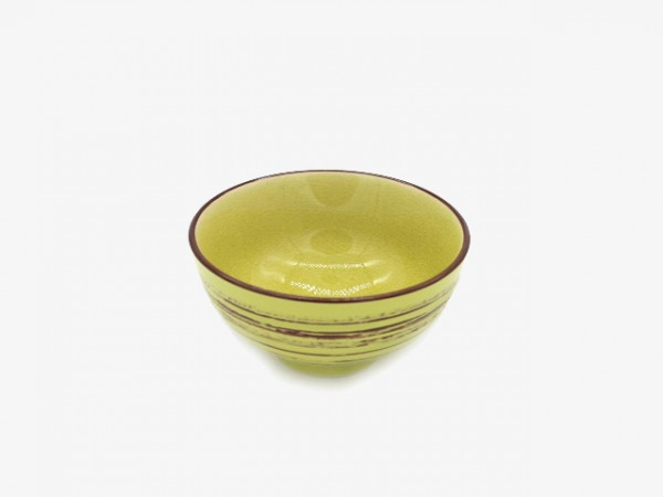 4.5JHLLWXJW Golden green bowl 11x6cm 10pcs