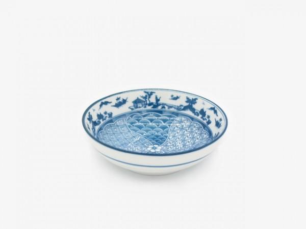 5.25YLLWW fish scales bowl 13x4cm 10pcs