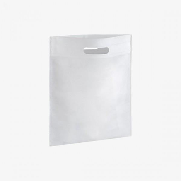 PKD23x35B White Plain Non Woven Bag 23x35cm