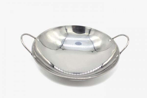 BTGG9 Wok Pot Stainless Steel 8pcs