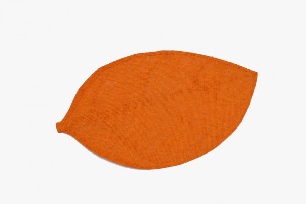 CSYZD nonwovens leaf placemat orange 30x45cm 20pcs