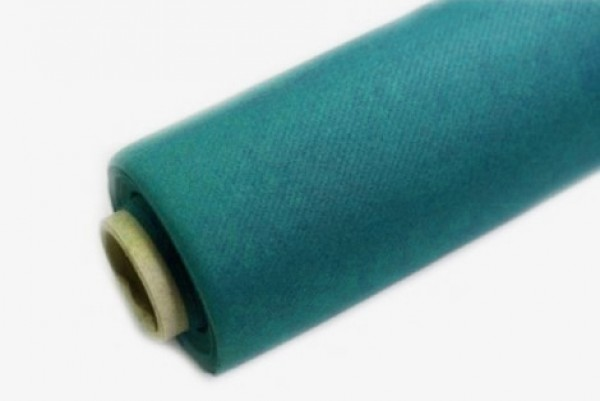 WFZB100VT Non-woven turquoise tablecloth 50pcs