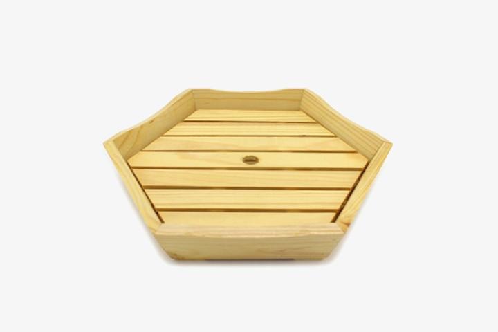 LJSSPX hexagon sushi plate 2pcs