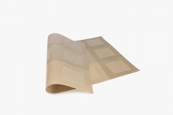 JBS12GHHG Plastic Placemats brown 30x45cm 20pcs