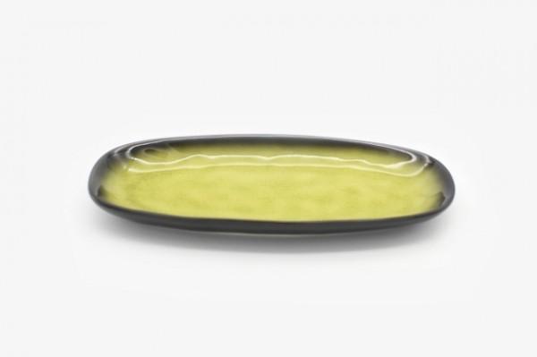 10TYPJHS 椭圆盘金黄绿色 25cm 5个