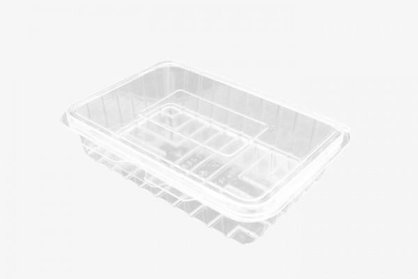 CSF400 透明塑料盒连盖 300只