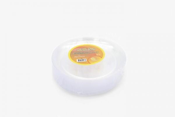 HS607 透明塑料盘 300只