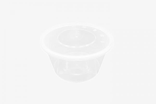PP1500G 塑料透明微波圆盒带盖 200只