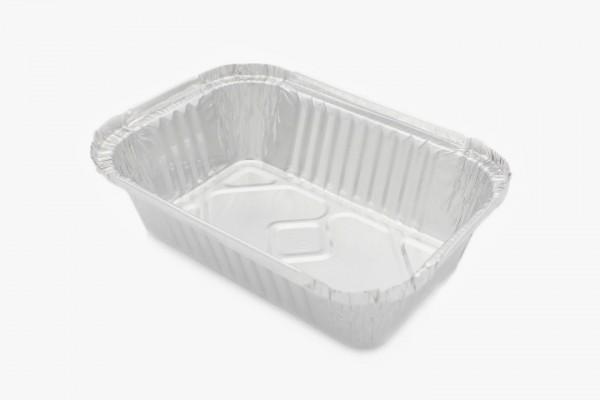 R21L 铝箔打包盒 三份盒 可加盖 2000只