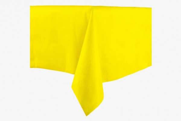 ZB70x150G 黄色桌布 70x150cm 10只