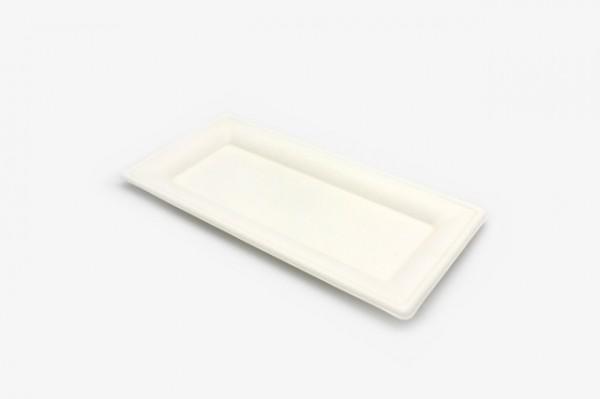 ZJP10.5 纸浆长方盘 13x25.5cm 500只