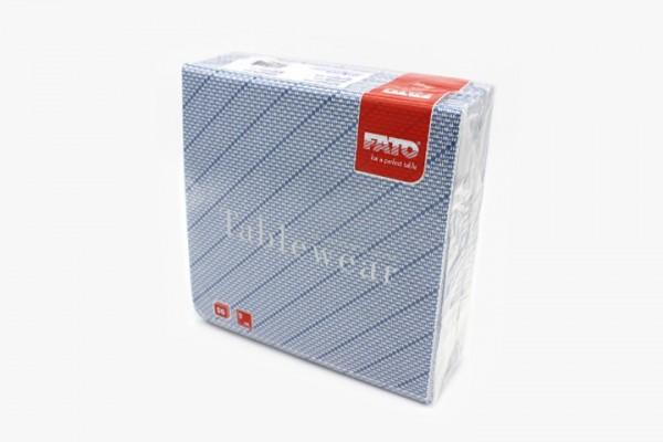T40LXW 蓝斜纹无尘餐巾纸 40x40cm 800张