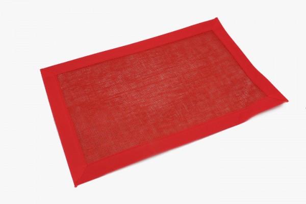 DHWFBB 大红无妨布包边桌垫 30x46cm 20张