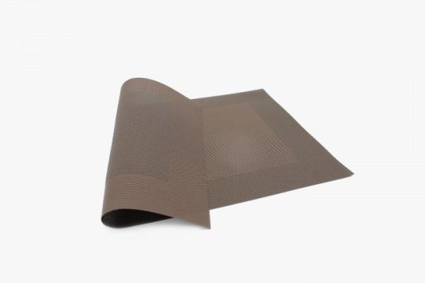 KFXFK 咖啡小方框塑料桌垫 30x45cm 20张