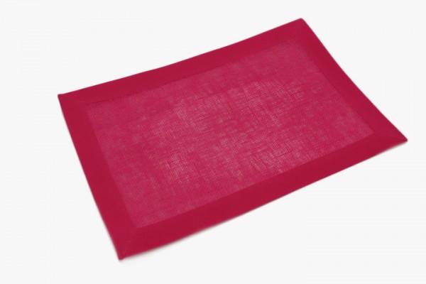 MGWFBB 玫瑰红无妨布包边桌垫 30x46cm 20张
