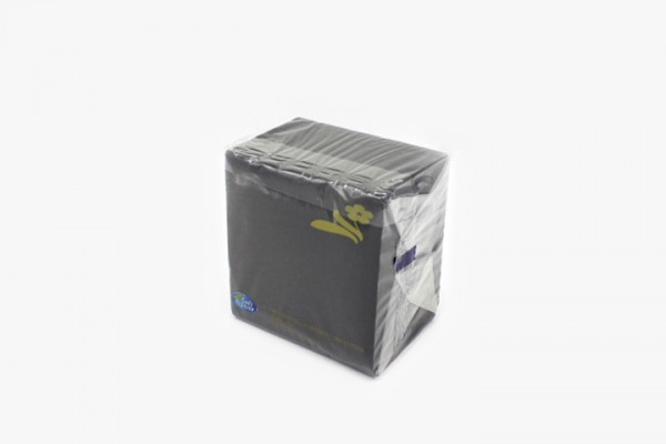 T25HN 黑色餐巾纸 25x25cm 3000张