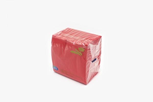 T25HR 红色餐巾纸 25x25cm 3000只