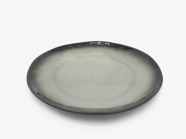 10.25HSYXP 灰色异型盘 直径26cm 4个