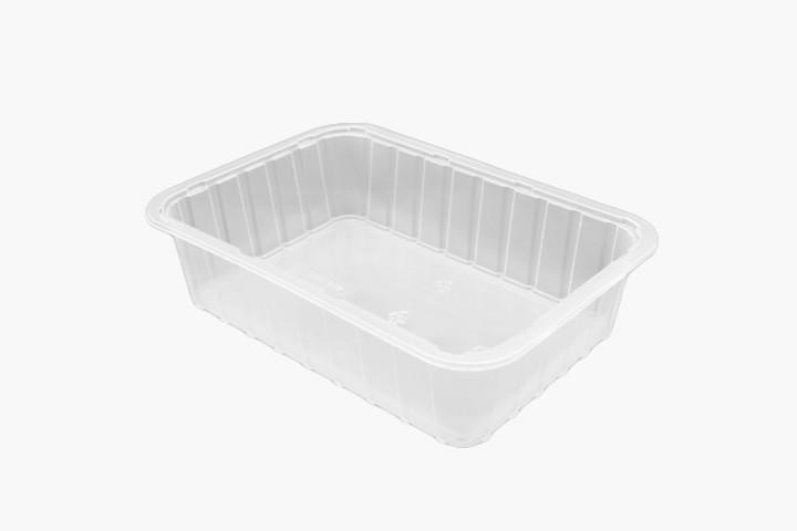 1000ML 塑料透明美福盒 700只