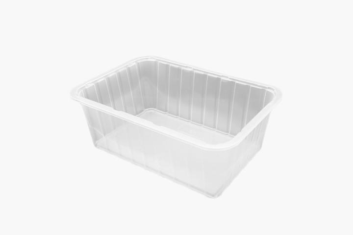 1500ML 塑料透明美福盒 700只