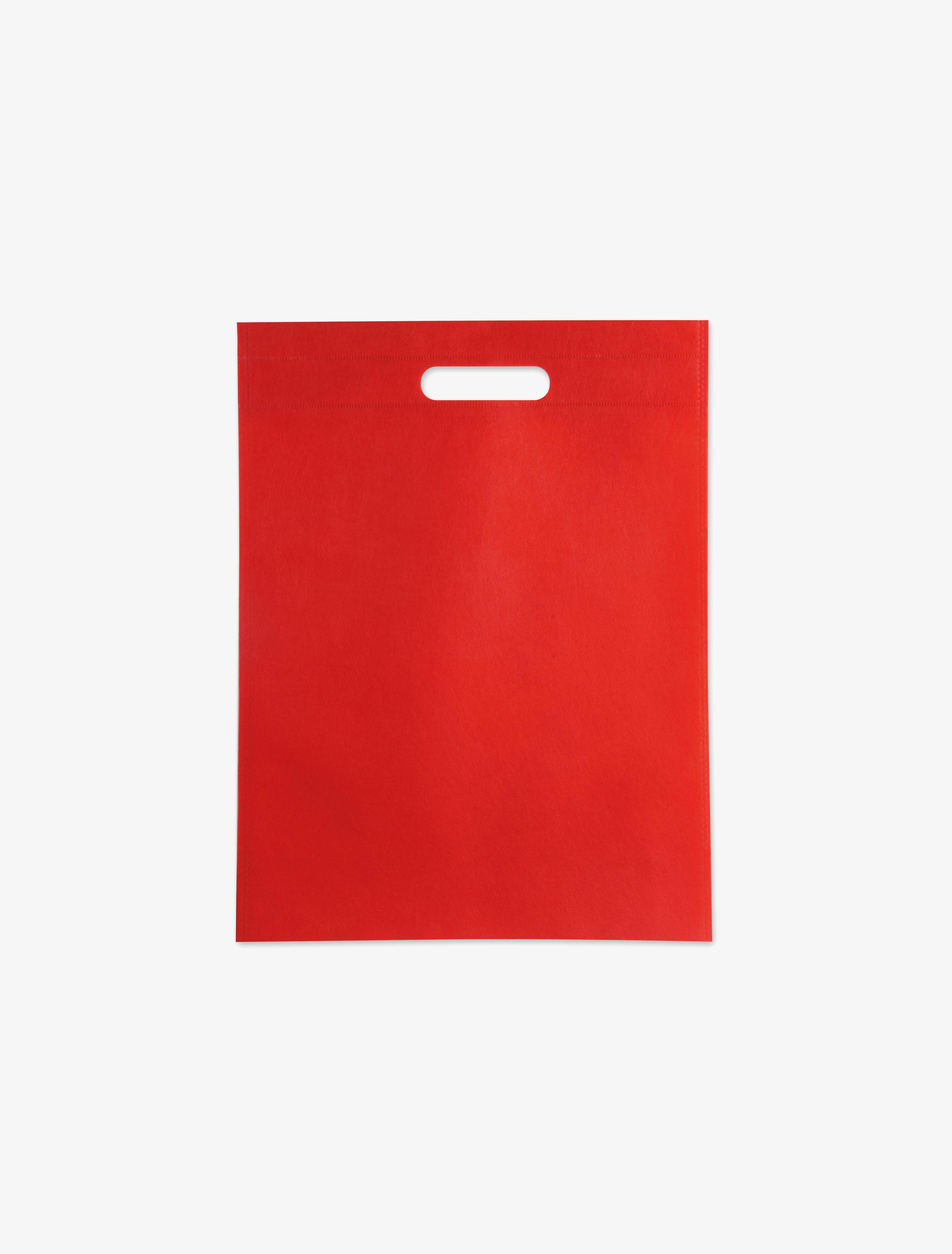 PKD23x35H 红色平口袋 23x35cm