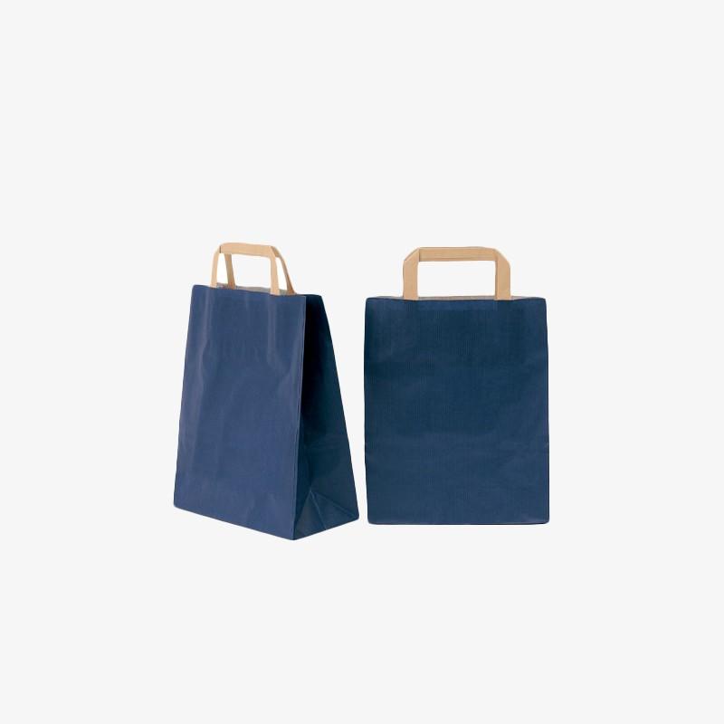 24x32BLU 手提纸袋 24x32x10cm 400个