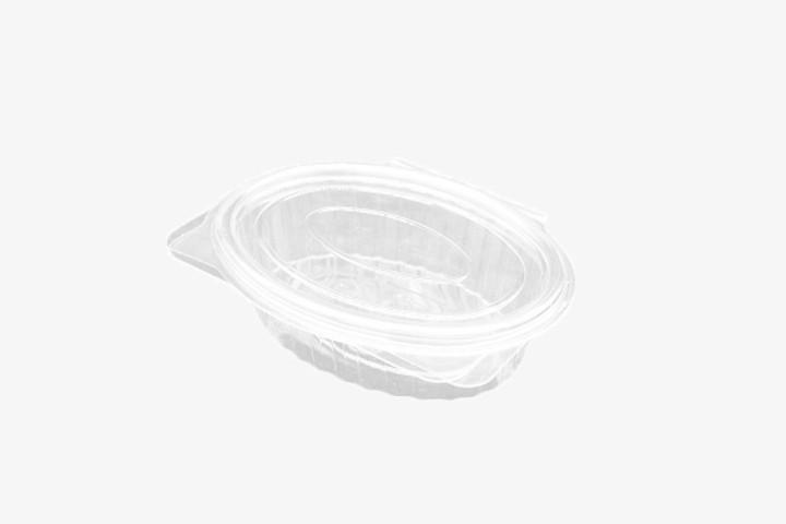 250G 透明塑料盒连盖 500只