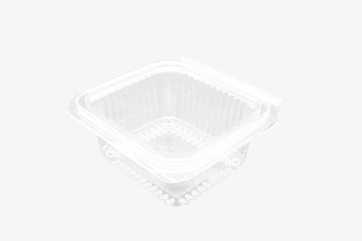 370CC 透明塑料盒连盖 700只