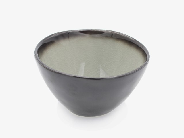 5.75HSMW 灰色面碗 15x10cm 4个
