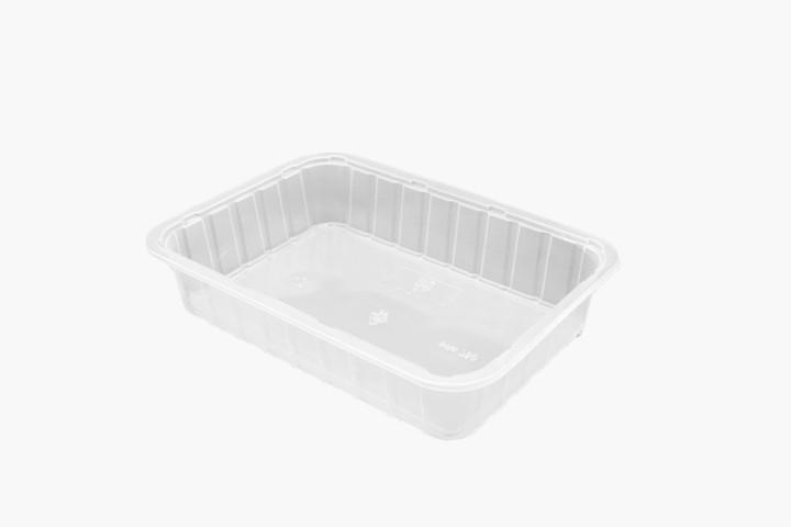 750ML 塑料透明美福盒 700只