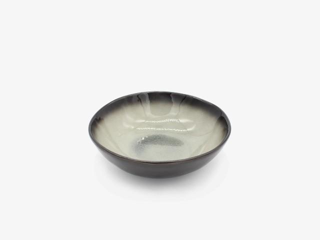 7HSYXW 灰色异型碗 17.5 6.5cm 4个