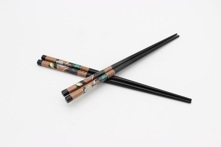 HFC 黑色棕色仙女筷 100双