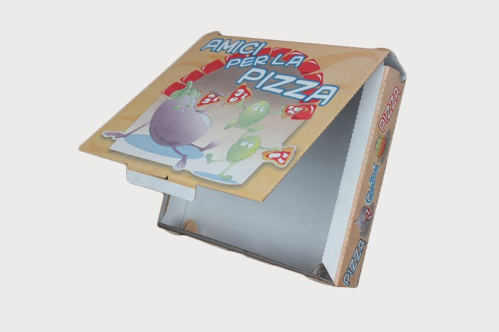 P22 Pizza纸盒连盖 22x26cm 100只
