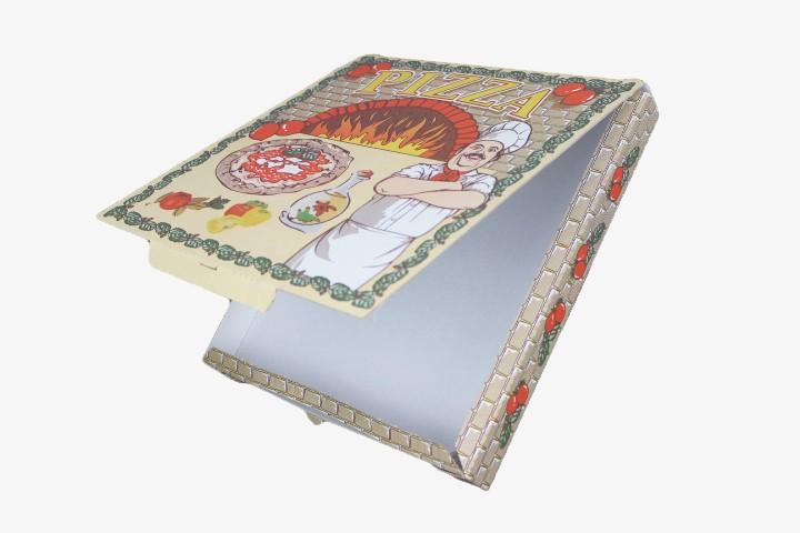 P30 PIZZA纸盒加厚连盖 29.5x29.5cm 100只