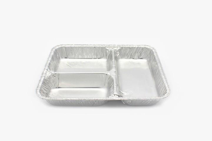 RSC2 铝箔打包盒 三格无盖 300只