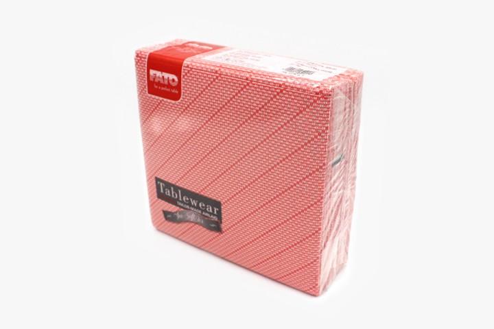 T40HXW 红斜纹无尘餐巾纸 40x40cm 800张