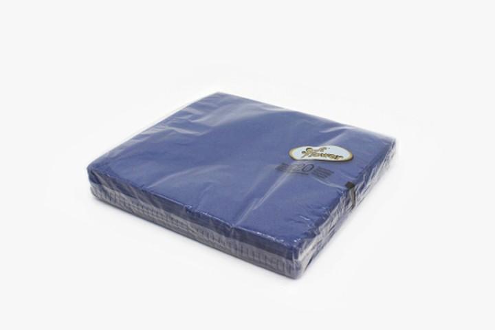T40B2 蓝色餐巾纸 40x40cm 400张