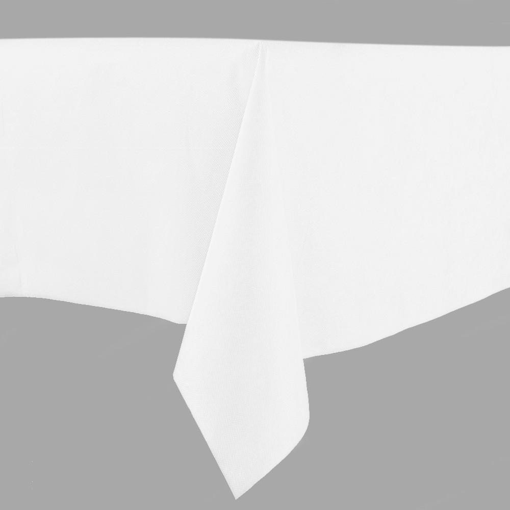 ZB280x280B 白色桌布 280x280cm
