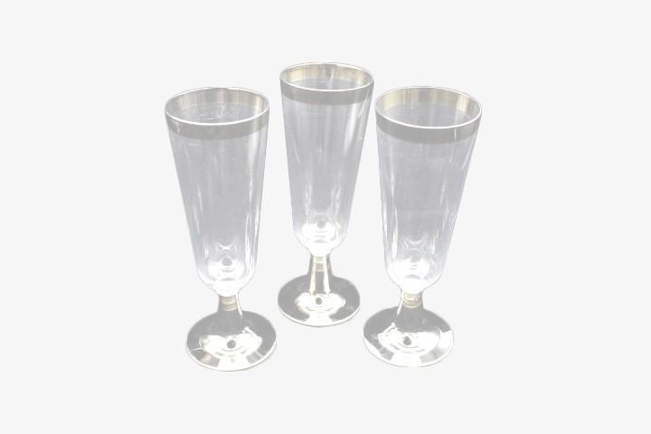 BHS814D 透明塑料香槟杯 300只