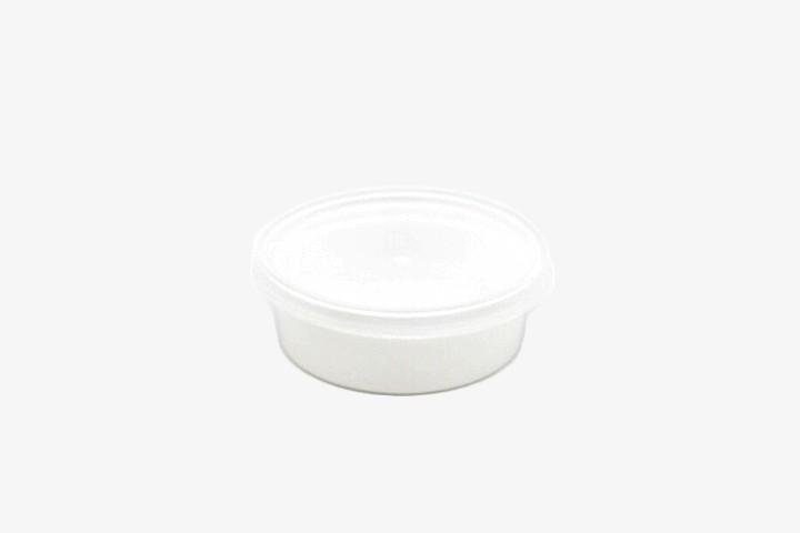 BBZ50 白扁汁盒带盖 500只