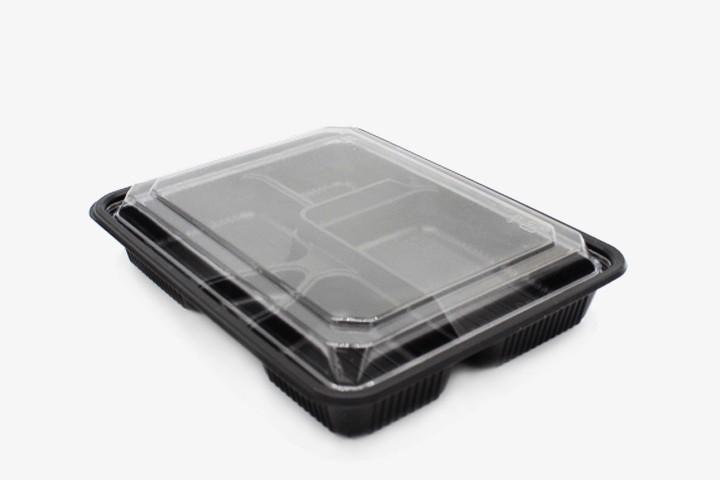 ZH18 黑五格寿司盒 400只