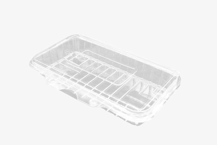 CSF100 透明塑料盒连盖 400只