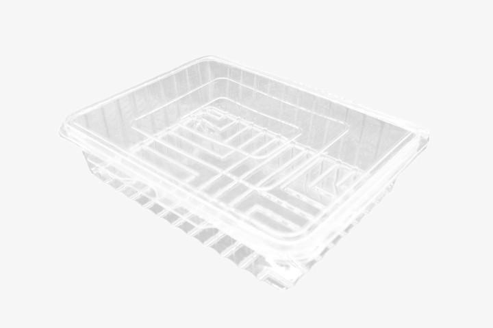 CSF600 透明塑料盒连盖 200只