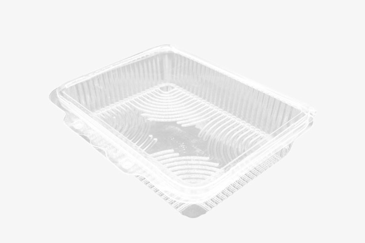 H45R 透明塑料盒连盖 300只