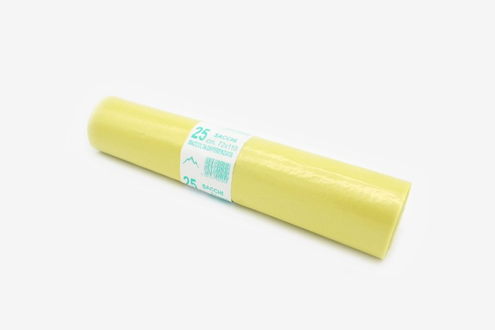HL72G 黄色垃圾袋 72x110cm 250只