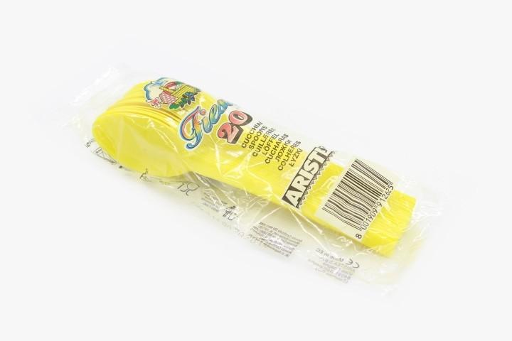 HS20G 黄色一次性勺子 480只