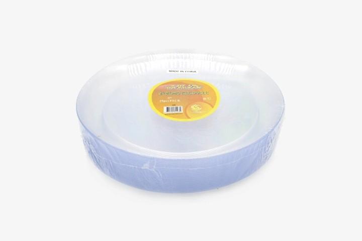 HS609 透明塑料盘 300只