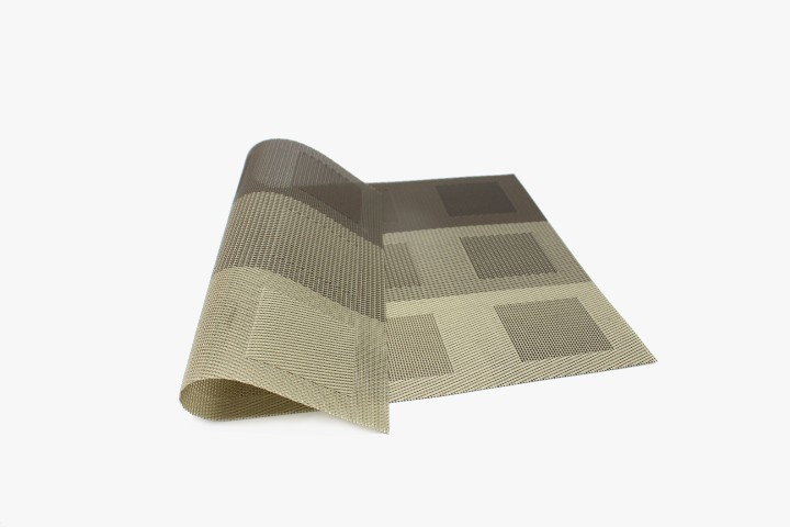 JBS12GHH 黑灰渐变色12方格塑料桌垫 30x45cm 20张